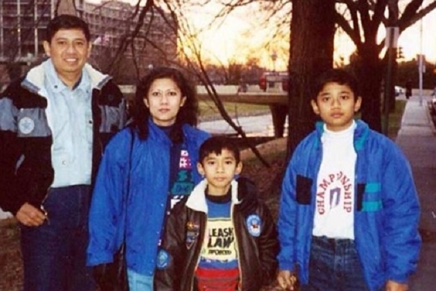SBY Family 1990