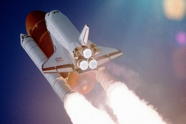 Pesawat Roket NASA Space Shuttle
