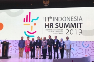 Indonesia HR Summit (IHRS) 2019 dilaksanakan di Bali Nusa Dua Convention Center (BNDCC) pada 18-19 September 2019.