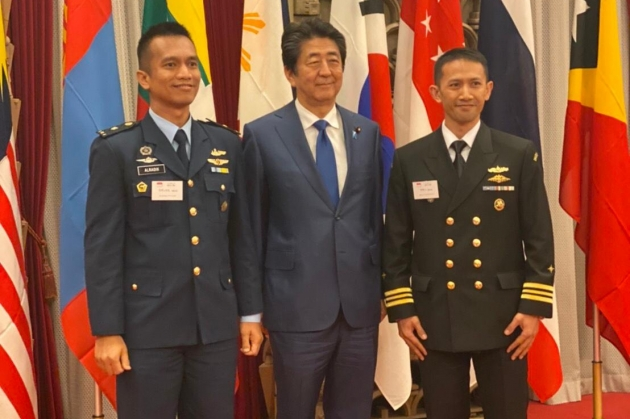 2 Perwira Menengah TNI menghadiri Reunion of Japan National Defense Academy (NDA) Foreign Graduates