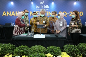 Analyst Meeting Triwulan III 2020 bank bjb, Selasa (27/10/2020)